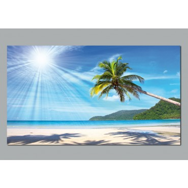 Poster plage achetez vos stickers moins cher for Poster mural plage pas cher