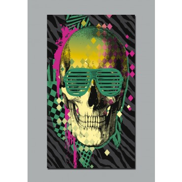 Poster skull achetez vos stickers moins cher - Photos posters moins cher ...