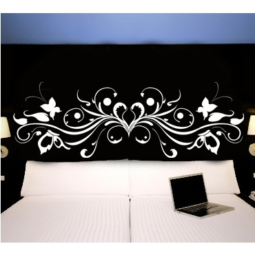 stickers tete de lit achetez vos stickers moins cher. Black Bedroom Furniture Sets. Home Design Ideas