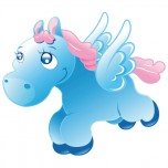 Stickers Poney