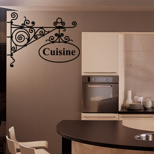 stickers cuisine achetez vos stickers moins cher. Black Bedroom Furniture Sets. Home Design Ideas