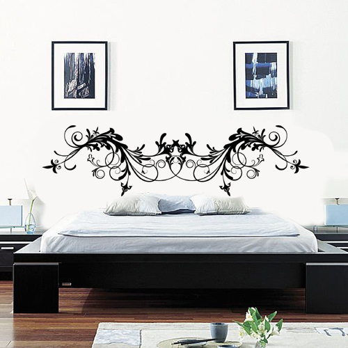 stickers t te de lit achetez vos stickers moins cher. Black Bedroom Furniture Sets. Home Design Ideas
